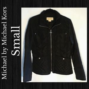 Michael by Michael Kors Small Black Jacket